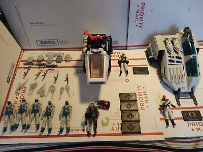 $ CDN303.19 • Buy GI Joe Vehicle Figure Lot Snow Serpent Arctic Hiss Cobra Wolf Destro 25th 50th