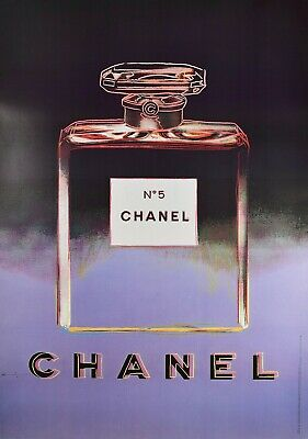 $1021.84 • Buy Vintage 1997 (174 Cm X 118 Cm) Andy Warhol For Chanel Screen Printed Poster