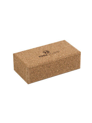 Yoga Studio Standard Size Cork Yoga Brick - Branded • 12.45£