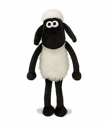 Shaun The Sheep 61173 Plush Cuddly Toy, Black And White, 8in • 10£