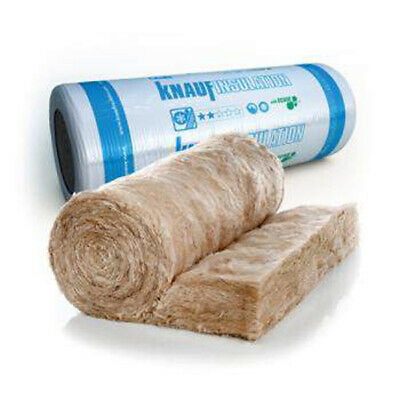 £471.78 • Buy 200mm Knauf / Isover Loft Insulation Roll Combi Cut  LARGE ROLL SIZE 5.93M2 PK