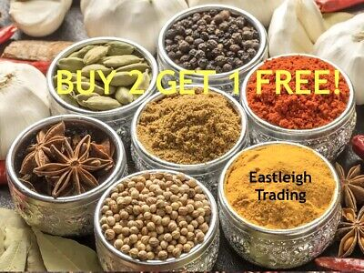 £3.95 • Buy 99p *buy 2 Get 1 Free* Indian Spices Seeds Seasonings Herbs Saffron Curry Masala