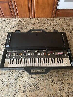$125 • Buy Vintage Casio MT-800 CASIOTONE Keyboard  With Hard Case