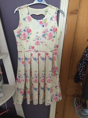 Yumi Girl Floral Dress 13-14yrs • 15£