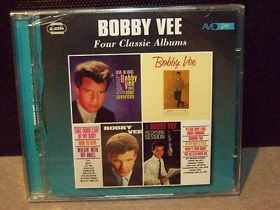 $23 • Buy Bobby Vee  Four Classic Albums On A 2 Cd Set