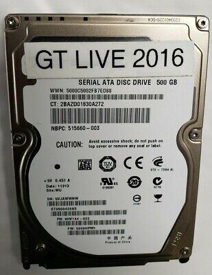 $90 • Buy Golden Tee LIVE Arcade Replacement Hard Drive With 2016 Courses