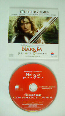 Narnia Prince Caspian Audio Book Read By Tom Baker The Sunday Times Promo CD • 2.99£