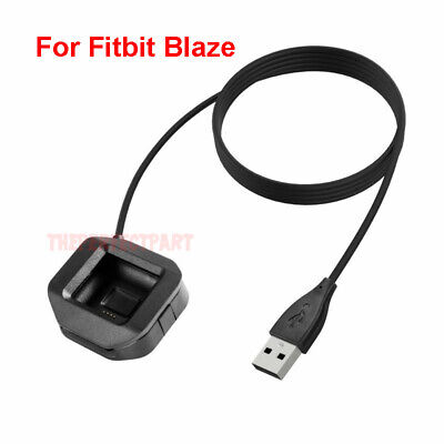 $ CDN7.59 • Buy USB Charging Battery Charger Cradle Dock Cable For Fitbit Blaze Watch Black