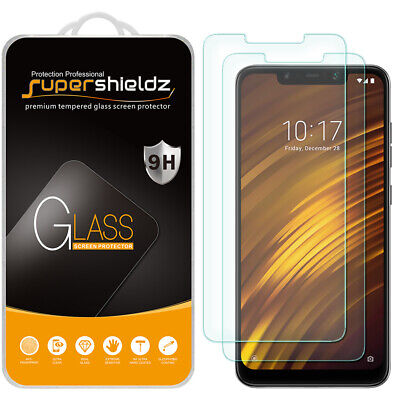 AU10.76 • Buy [2-Pack] Supershieldz Tempered Glass Screen Protector For Xiaomi Pocophone F1