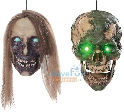 $ CDN63.42 • Buy Undead Cathy And Fred Hanging Head Animated Props Zombie Halloween
