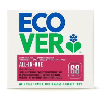 Ecover All In One Dishwasher Tablets - 68 Tablets • 16.47£