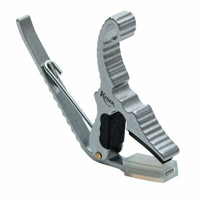 $ CDN26.60 • Buy Kyser KG3S Silver Finish Short Cut Partial Guitar Capo