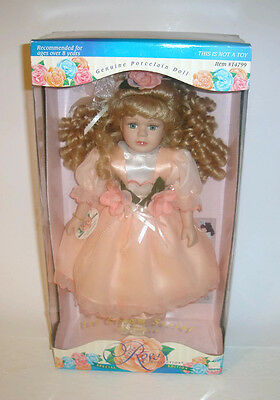 $ CDN19.99 • Buy Victorian Rose Collection Porcelain Doll By Melissa Jane Special Edition #14799