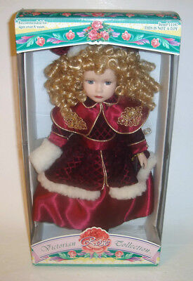 $ CDN19.99 • Buy Victorian Rose Collection Porcelain Doll By Melissa Jane 1997 Ltd Ed #11197