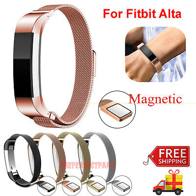 $ CDN9.92 • Buy For Fitbit Alta / Alta HR Magnetic Milanese Stainless Steel Watch Band Strap New