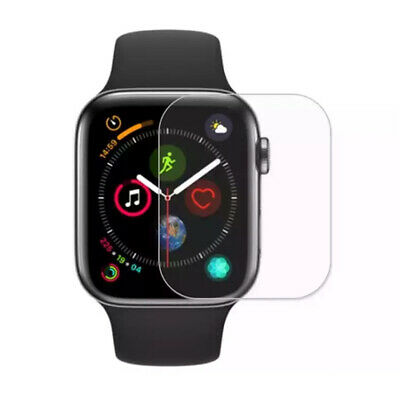 $ CDN2.38 • Buy For Apple Watch Series 4/3/2/1 42mm Screen Protector Guard Film Transparent 2Pcs