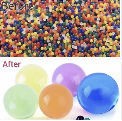 AU21.65 • Buy 50000 Orbeez Water Aqua Soil Crystal Bio Gel Balls Beads Decoration Vase Filler