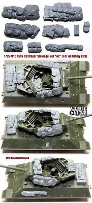 $17 • Buy 1/35 Scale M10 Tank Destroyer Stowage Version-AC2 (For Academy Kit) ValueGear
