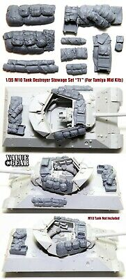 $17 • Buy 1/35 Scale M10 Tank Destroyer Stowage Version-T1 (For Tamiya Mid Prod Kit) VGD