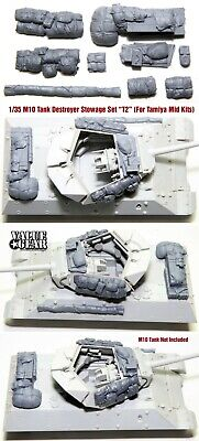 $17 • Buy 1/35 Scale M10 Tank Destroyer Stowage Version-T2 (For Tamiya Mid Prod Kit) VGD
