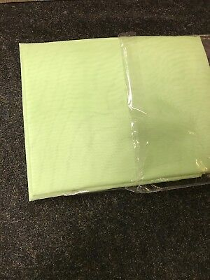 "LIME VOILE CURTAIN 1 Voile Panel Tab Top Heading 59"" Wide X 72"" Drop • 8.99£"