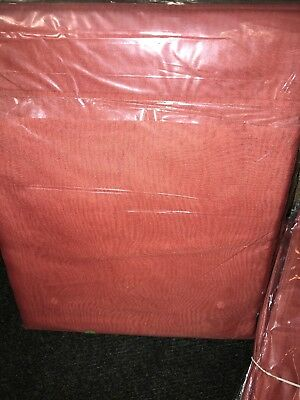 """TERRACOTTA VOILE CURTAIN 1 Voile Panel Tab Top Heading 59"""" Wide X 90"""" Drop • 9.99£"""