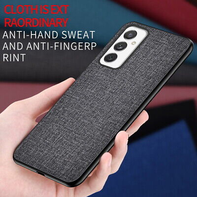 AU4.89 • Buy Cloth Fabric+PC Hybrid Case Cover For Samsung Galaxy Note 10 Plus S10 S9 S8 Plus