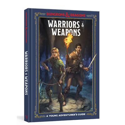 AU22.38 • Buy D&D Dungeons & Dragons Warriors And Weapons A Young Adventurers Guide