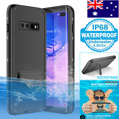 AU24.99 • Buy For Samsung S8 S9 S10 Plus Waterproof Case Cover With Screen Protector Kickstand