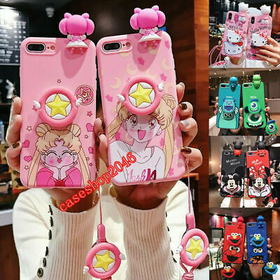 AU10.12 • Buy Cartoon Sailor Moon Doll Strap Case For IPhone 11 Pro XS Max X 7 8+ Holder Cover