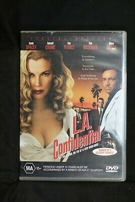 AU14.99 • Buy L.A. Confidential - Kevin Spacey, Russel Crowe & Guy Pearce  - R 4- (D477)