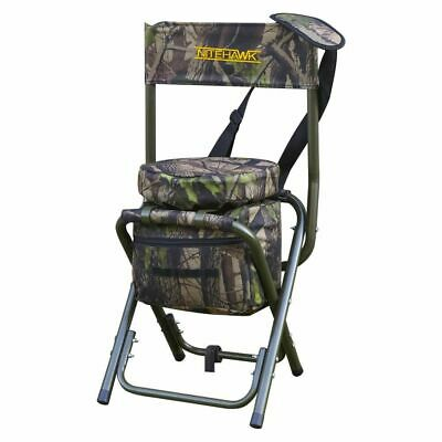 £34.99 • Buy Nitehawk Camouflage Lightweight Hunting Shooters Hide Swivel Seat