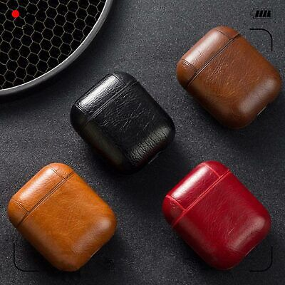 $ CDN6.28 • Buy Leather Strap Holder Cover Accessories For Apple AirPods 1 2 Charging Case USA