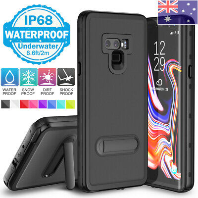 AU24.99 • Buy For Samsung S8 S9 S10 Plus Screen Protector Waterproof Case Cover With Kickstand