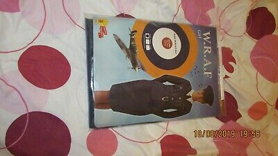 Adult W.R.A.F. Officer - RUBIES FANCY DRESS COSTUME, Size SMALL • 12£