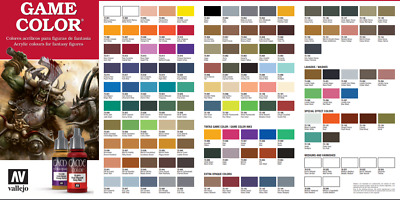 Vallejo Game Color Figure Paint Choose Mix Any From Full Range Of 17ml Acrylics • 2.95£