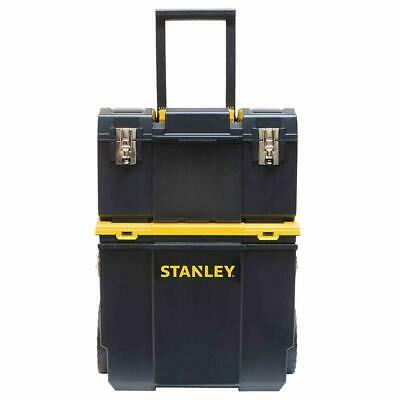 View Details Stanley STST18613 3-in-1 Detachable Tool Box And Organizer Combo Workcenter • 44.99$