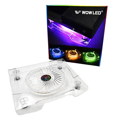 AU36.99 • Buy USB LED RGB Multi-color Cooler Cooling Fan Stand For PS4 Pro XBOX One X Laptop