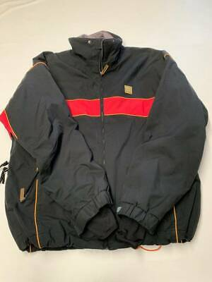 $58.49 • Buy Mens DESCENTE Black Zip Up Ski Snowboarding DNA Jacket Sz 2XL