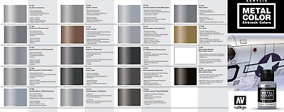 Vallejo Metal Color Metallic Paint - Choose Mix Any 32ml Bottle From Full Range  • 6.57£