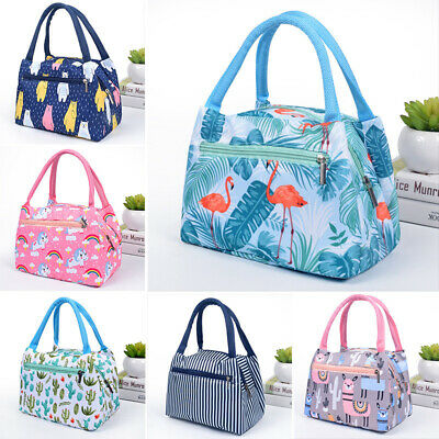 AU6.23 • Buy Cartoon Printed Lunch Bag Portable Insulated Thermal Cool Bags Picnic Food Box
