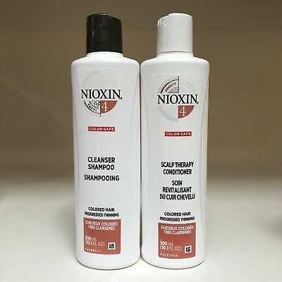 AU38.76 • Buy Nioxin System 4 Cleanser Shampoo And Scalp Therapy Conditioner Duo 10.1 Oz Each