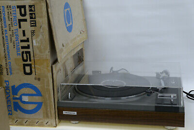 AU399.95 • Buy Pioneer PL-115D  Auto-Return Classic HiFi Stereo Turntable Record Player + Box