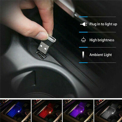 $0.99 • Buy Mini Lamp Bulb Accessories USB LED Car Interior Light Neon Atmosphere Ambient