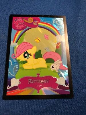 My Little Pony Foil Trading Card Filly Fluttershy Series 2 #F5 • 9.37£