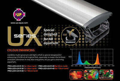 AU265 • Buy UP-Aqua UX R Aquarium Lighting Designed For Enhancing Fish Colour