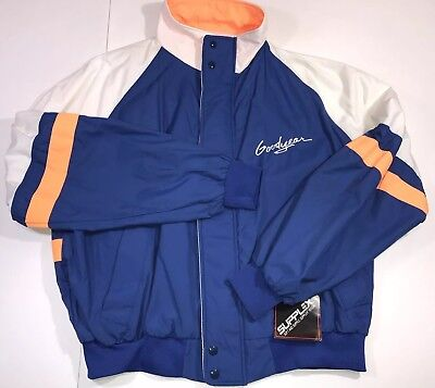 Goodyear Racing Jacket XL NEW NWT Tires Vintage Old • 37.48$