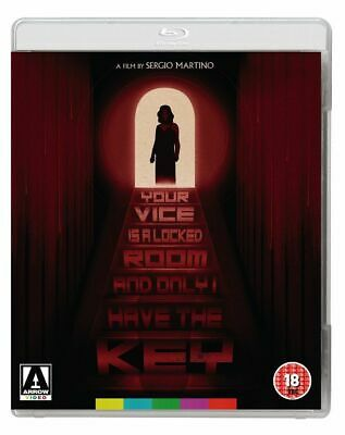 Your Vice Is A Locked Room And Only I Have The Key Arrow Blu-ray New & Sealed • 21.95£