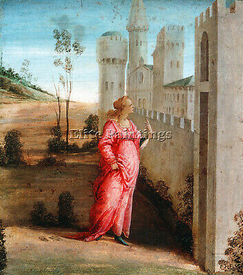 $ CDN304.28 • Buy Filippino Lippi Esther Artist Painting Reproduction Handmade Canvas Repro Wall