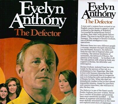 The Defector By Evelyn Anthony 1980 Hutchinson First Edition Hardback • 3.85£